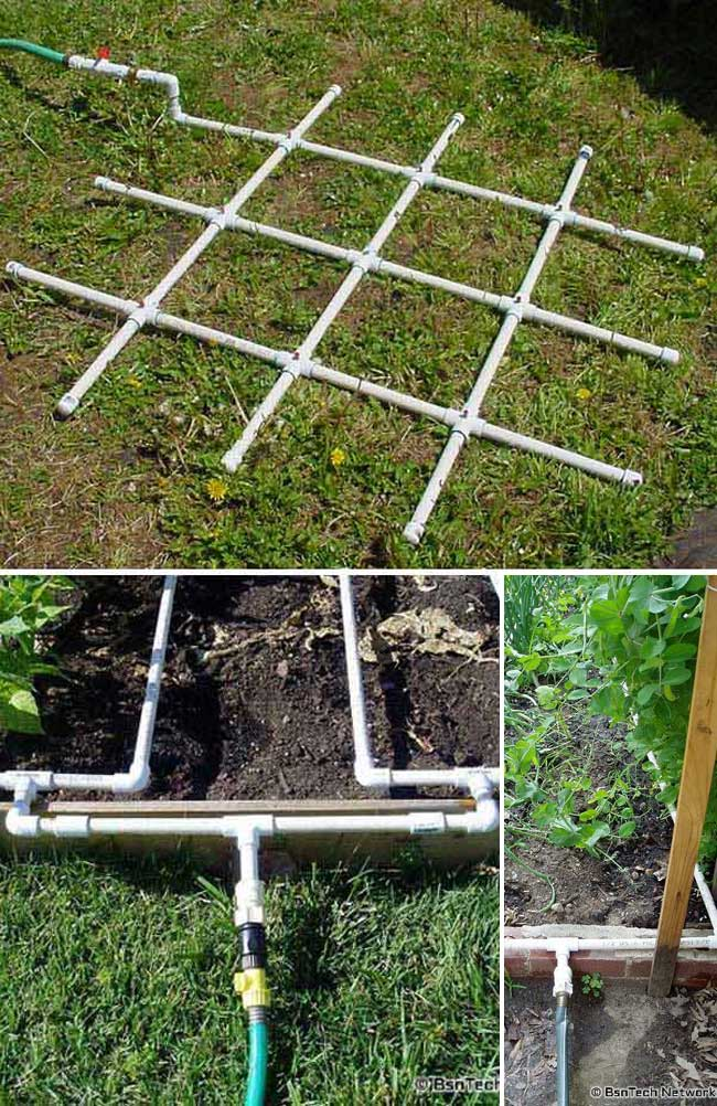 Creative Gardening Ideas With Inexpensive Pvc Pipes Digging In