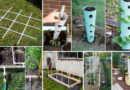 Creative Gardening Ideas With Inexpensive PVC Pipes