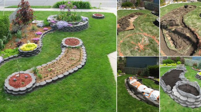 Build An Island Bed In A Sea Of Grass Digging In The Garden