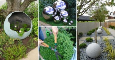 10 DIY Globe & Gazing Ball Ideas to Make Your Garden Shine