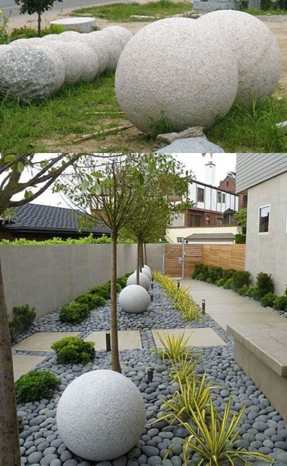 Granite Stone Spheres