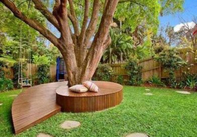 21 Cool and Inspiring Benches Around Trees