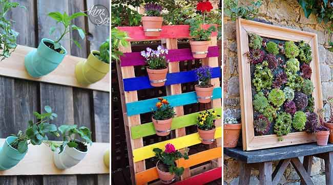 65 Clever Space Saving DIY Vertical Garden Ideas